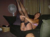 Ehefrau nackt privat