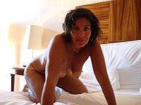 Reife Frau privat nackt und beim Sex