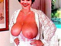 Private Fotos einer Ehefrau