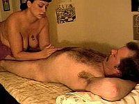 Geile Ehefrau beim Oral Sex